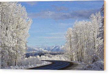 Christmas Morning Wood Print by Sylvia Hart