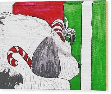 Christmas Presence Wood Print