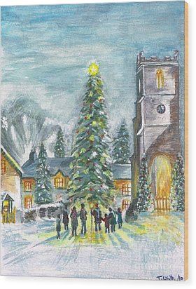 Christmas Spirit Wood Print
