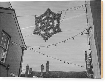 Wood Print featuring the photograph Christmas Star by David Isaacson