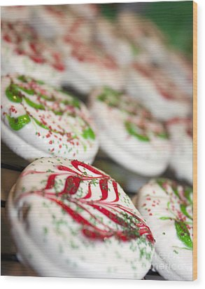 Christmas Sweets Wood Print by Christine Wiegand