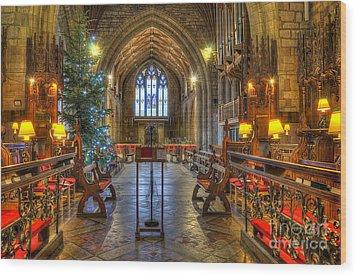 Christmas Time  Wood Print by Darren Wilkes