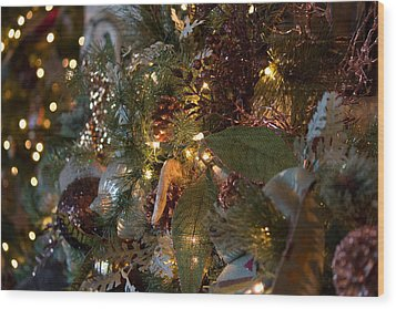 Christmas Tree Splendor Wood Print