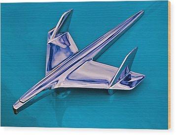 Chrome Jet 2 Wood Print by Phil 'motography' Clark