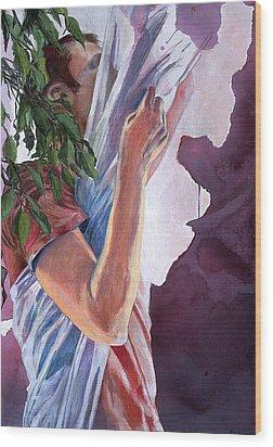 Chrysalis Wood Print