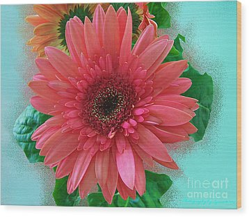 Wood Print featuring the photograph Chrysanthemum by Gena Weiser