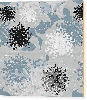 Chrysanthemum Wood Print by Jocelyn Friis