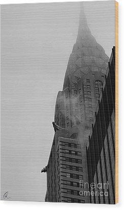 Chrysler Building 1 Wood Print by Chris Thomas