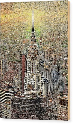 Chrysler Building New York City 20130425 Wood Print by Wingsdomain Art and Photography
