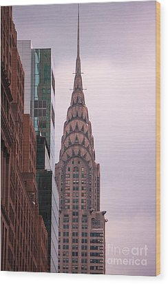 Wood Print featuring the photograph Chrysler Building by Rafael Quirindongo