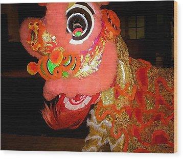 Chua Truc Lam Dragon Wood Print by Shawn Lyte