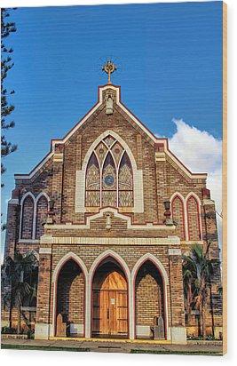 Wood Print featuring the photograph Church 1 by Dawn Eshelman