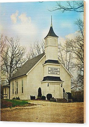 Wood Print featuring the photograph Church 12 by Marty Koch