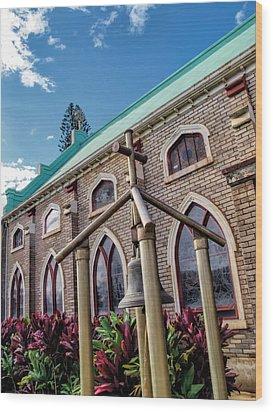 Wood Print featuring the photograph Church 5 by Dawn Eshelman