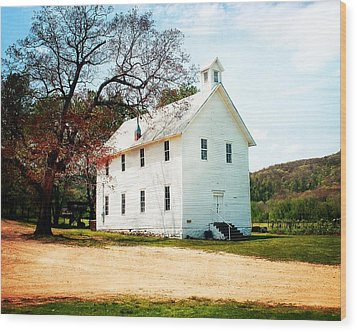 Wood Print featuring the photograph Church At Boxley by Marty Koch