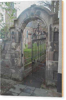 Church Gate Wood Print