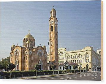 Church Of Jesus The Saviour Wood Print by Ladi  Kirn