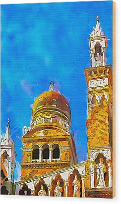 Church Of Madonna Dell'orto Wood Print by Greg Collins