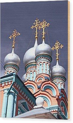 Church Of Neokessariyskogo Wood Print