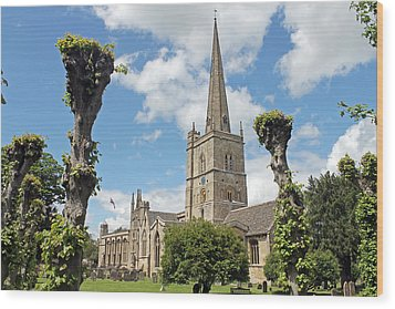Church Of St John The Baptist Wood Print