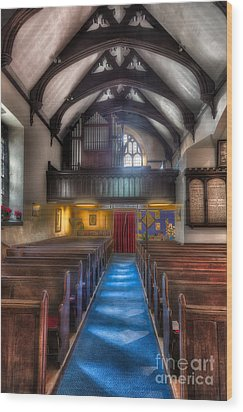 Church Of St Mary Wood Print by Adrian Evans