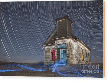 Wood Print featuring the photograph Church Of Taiban by Keith Kapple
