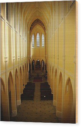 Church Of The Assumption Of Our Lady And Saint John The Baptist Wood Print by Zinvolle Art