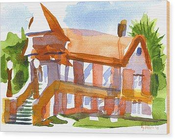 Church On Shepherd Street 4 Wood Print by Kip DeVore