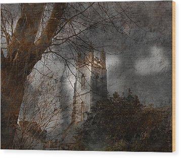 Church Tower Wood Print by Nigel Watts