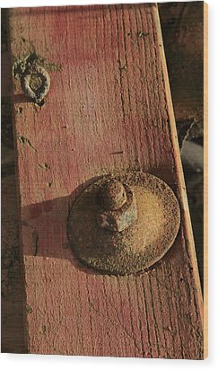 Chute Wood Print by Odd Jeppesen
