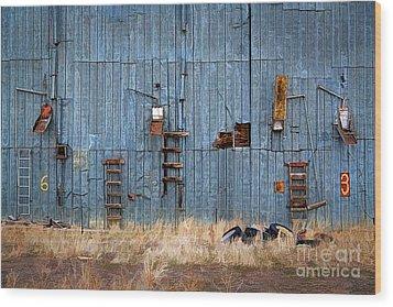 Chutes And Ladders Wood Print by Jon Burch Photography