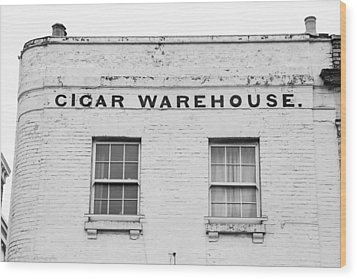 Wood Print featuring the photograph Cigar Warehouse by Ross Henton
