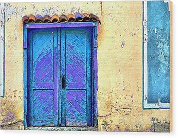 Cimarron Door Wood Print