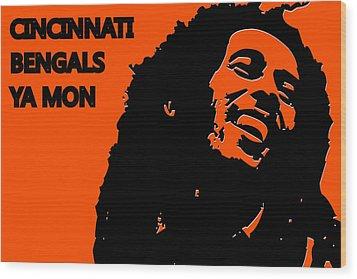 Cincinnati Bengals Ya Mon Wood Print by Joe Hamilton