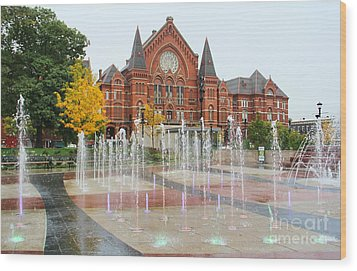Cincinnati Music Hall 0001 Wood Print