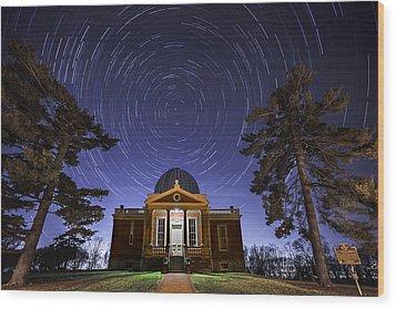 Cincinnati Observatory Wood Print