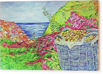 Cinque Terre Wood Print