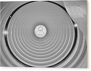 Circular Dome Wood Print