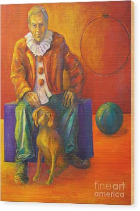 Circus Wood Print by Dagmar Helbig