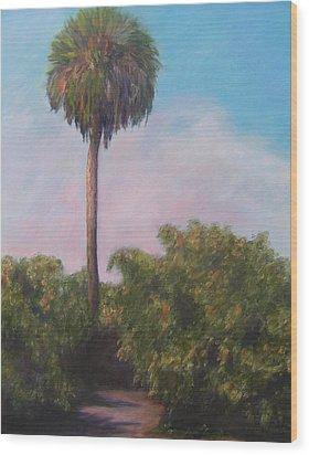 Citra Fl Orange Grove Wood Print