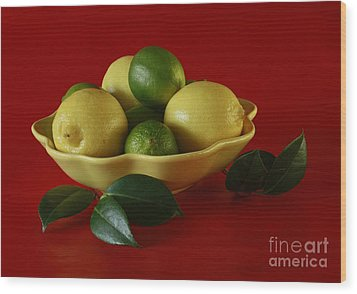 Citrus Passion Wood Print by Inspired Nature Photography Fine Art Photography