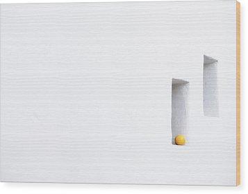Citrus Simplicity Wood Print