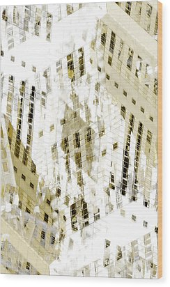 City 3 Wood Print