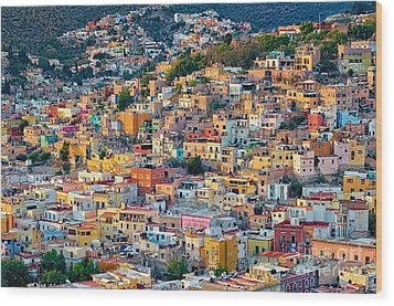 City Of Guanajuato Wood Print