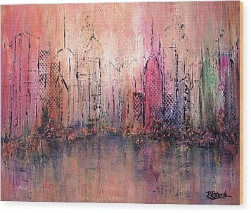 City Of Hope Wood Print by Roberta Rotunda