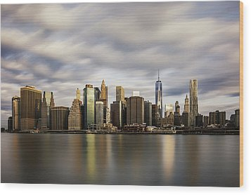 Wood Print featuring the photograph City Of Light by Anthony Fields