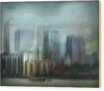Wood Print featuring the photograph Cityscape #26 by Alfredo Gonzalez