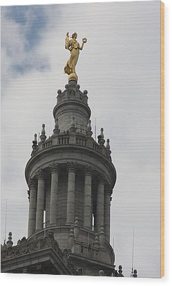 Civic Fame - Victory And Triumph Wood Print by Vadim Levin