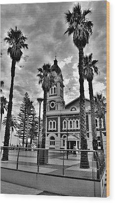 Civic Splendour - Glenelg Beach - Australia Wood Print