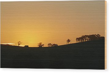 Clarkes Road Wood Print